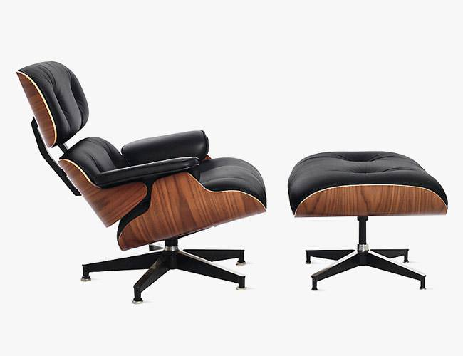 Image of: Eames Lounge Chair Dwr