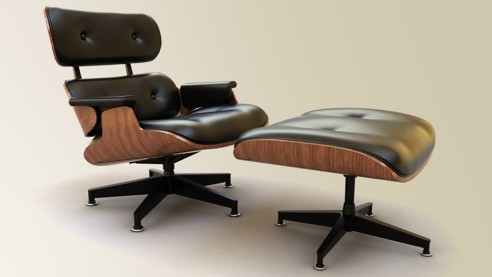 Image of: Eames Lounge Chair Review
