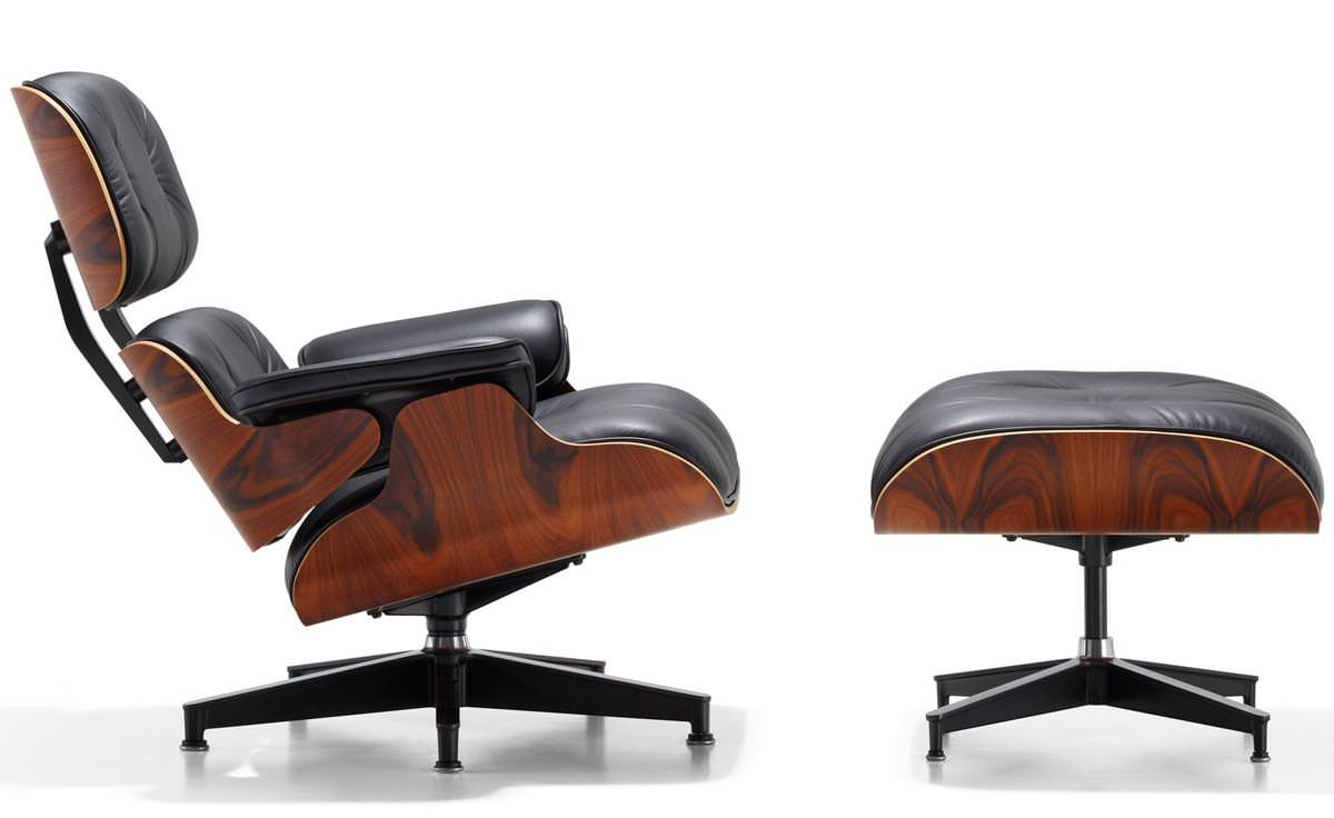 Image of: Eames Lounge Chair Vintage
