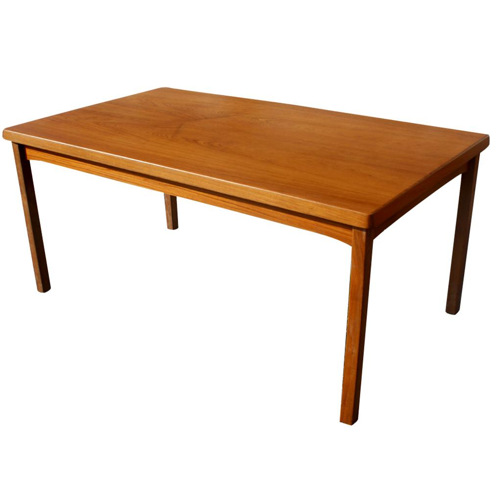 Image of: Expandable Dining Table Mid Century