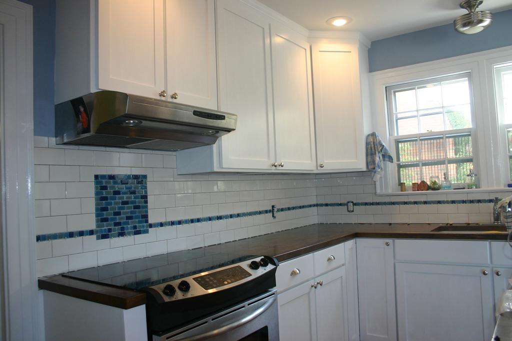 Picture of: Glass Subway Tile Gray