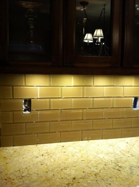 Image of: How To Cut Glass Subway Tile Around Outlets
