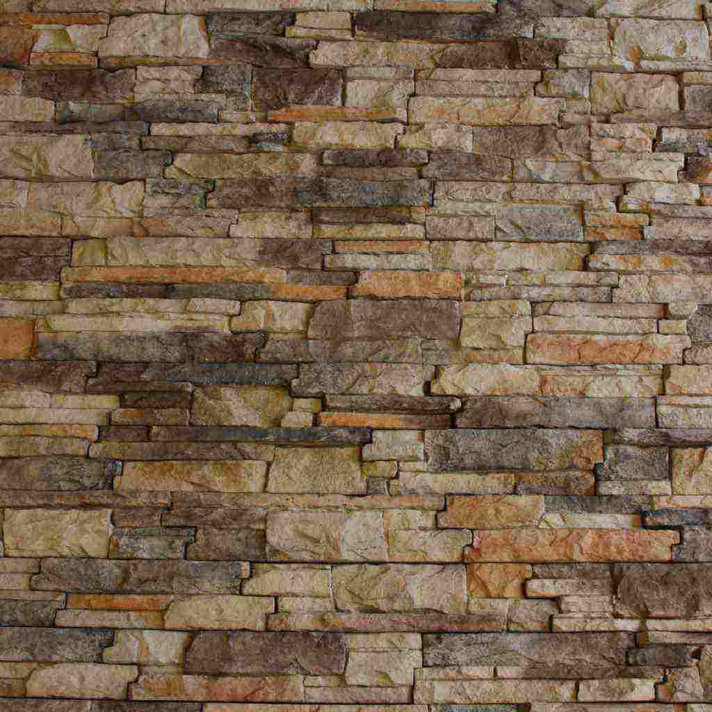 Image of: Rustic Faux Brick Panels Image