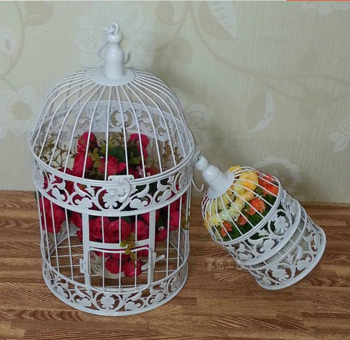 Image of: Decorative Bird Cages For Weddings
