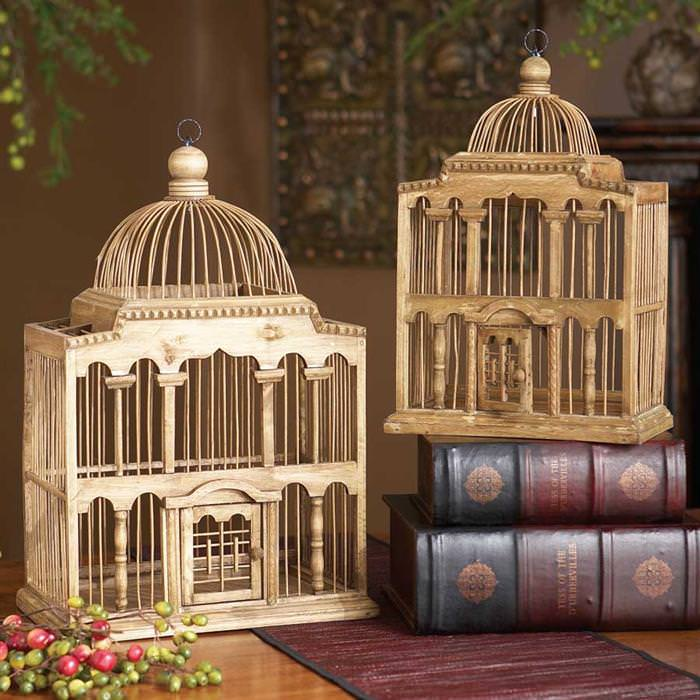 Image of: Discount Decorative Bird Cages