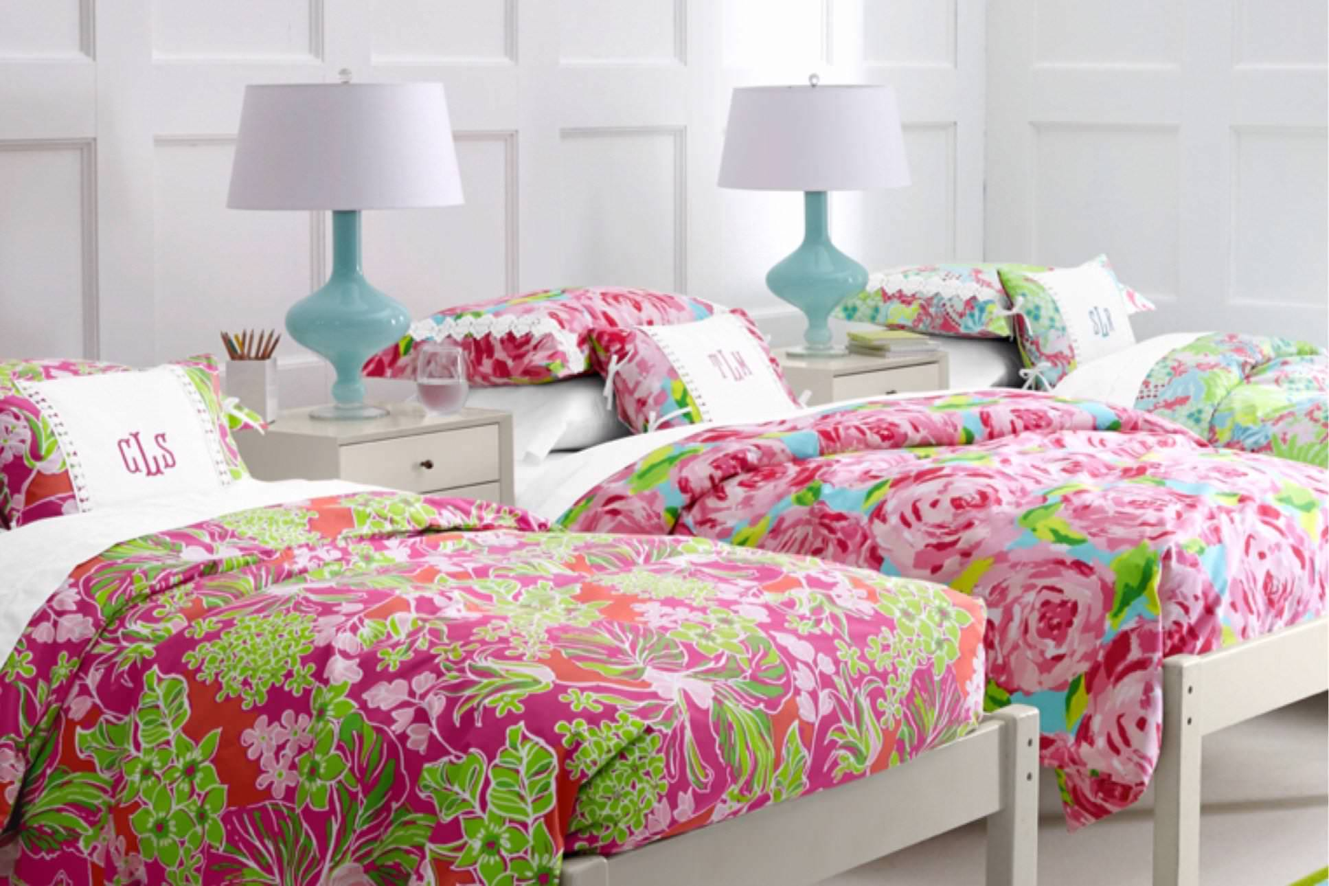 Image of: Lilly Pulitzer Bedding Ebay