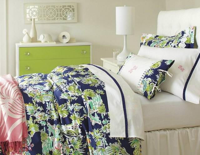 Image of: Lilly Pulitzer Bedding Full