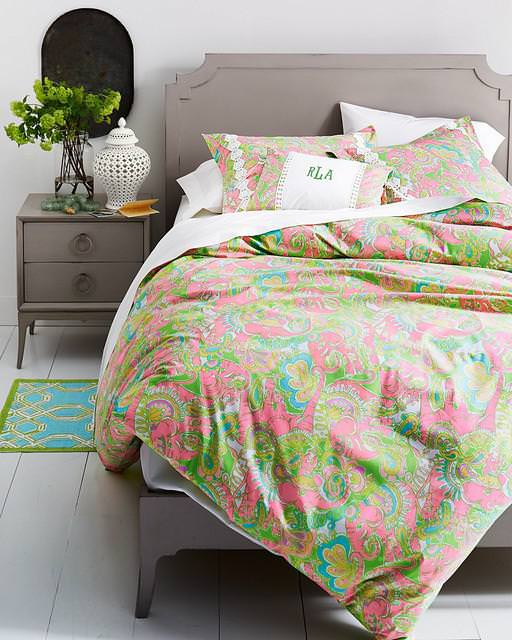Image of: Lilly Pulitzer Bedding Quilt