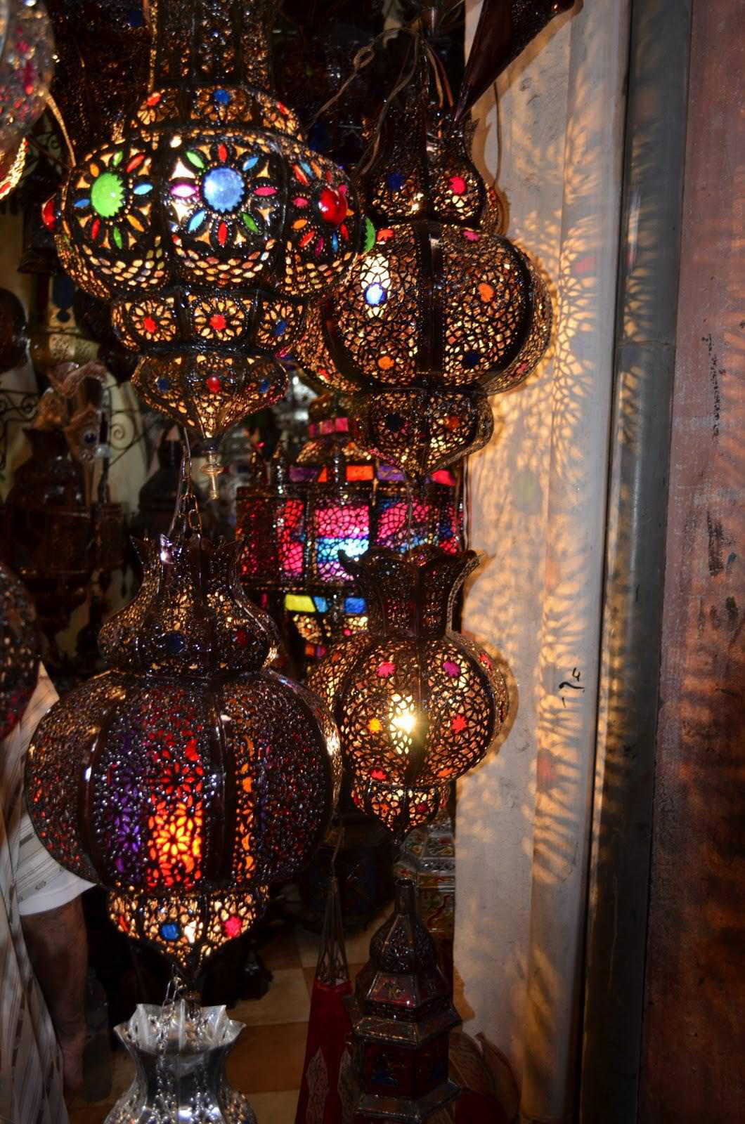 Picture of: Moroccan Lanterns Diy