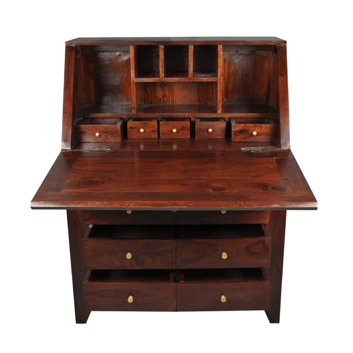 Picture of: Narrow Secretary Desk
