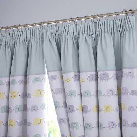 Image of: Nursery Blackout Curtains Eyelet