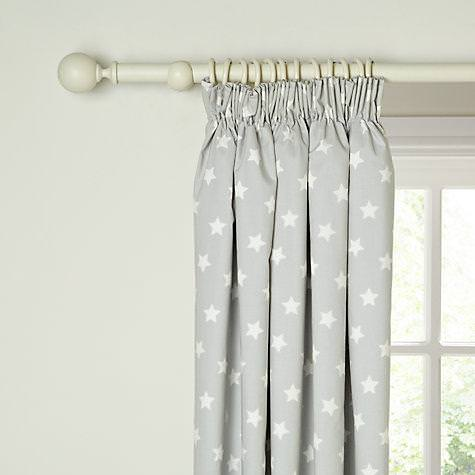 Image of: Nursery Blackout Curtains Girl