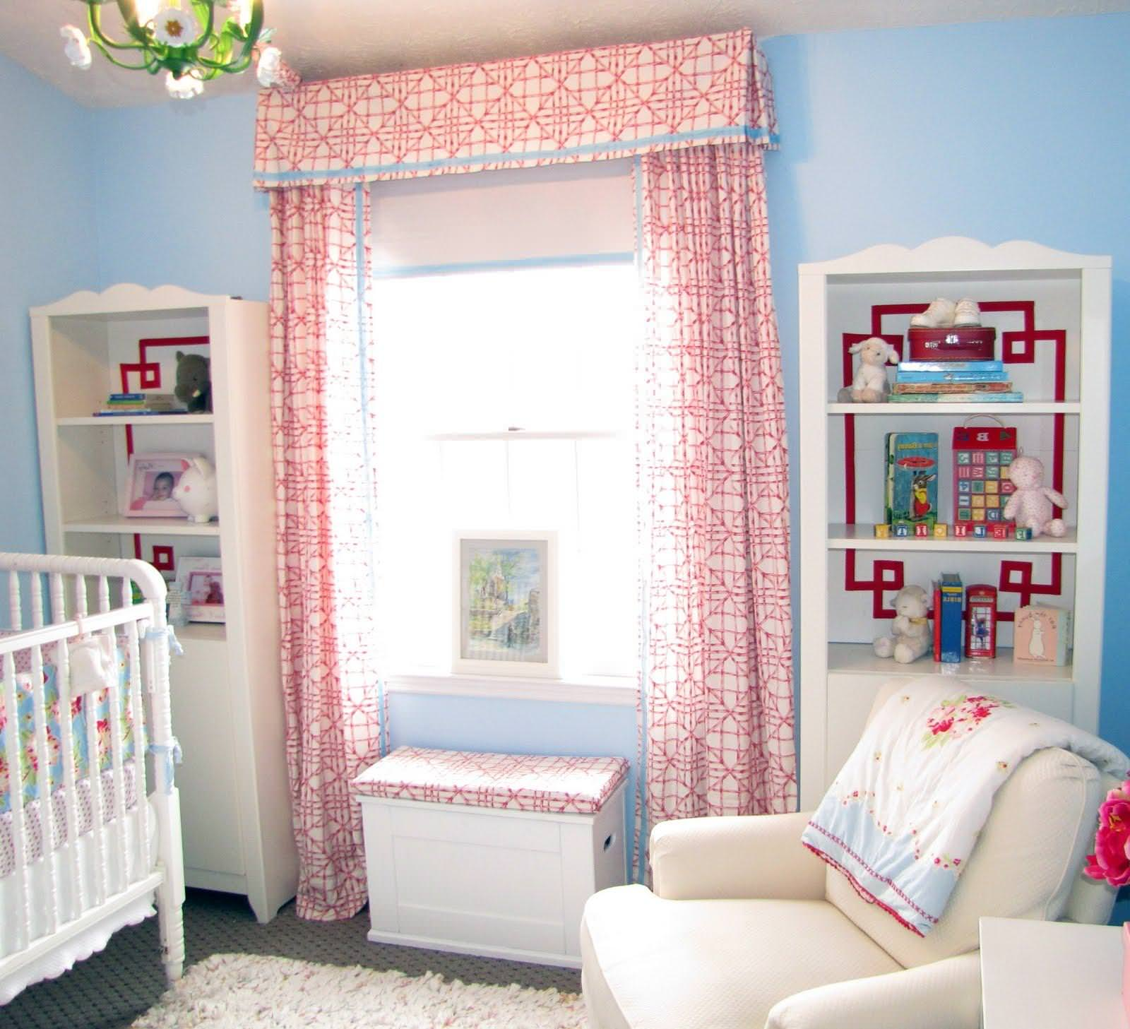 Image of: Nursery Blackout Curtains Grey