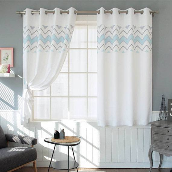 Image of: Nursery Blackout Curtains Ikea
