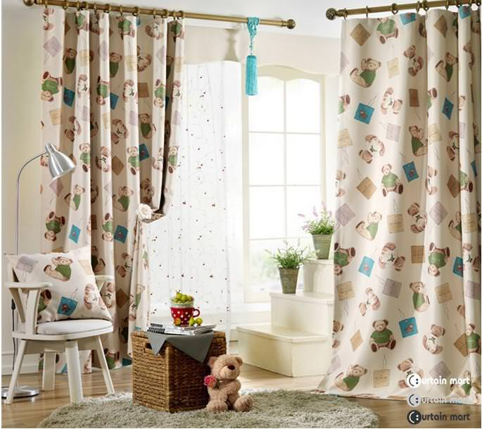 Image of: Nursery Blackout Curtains Ireland