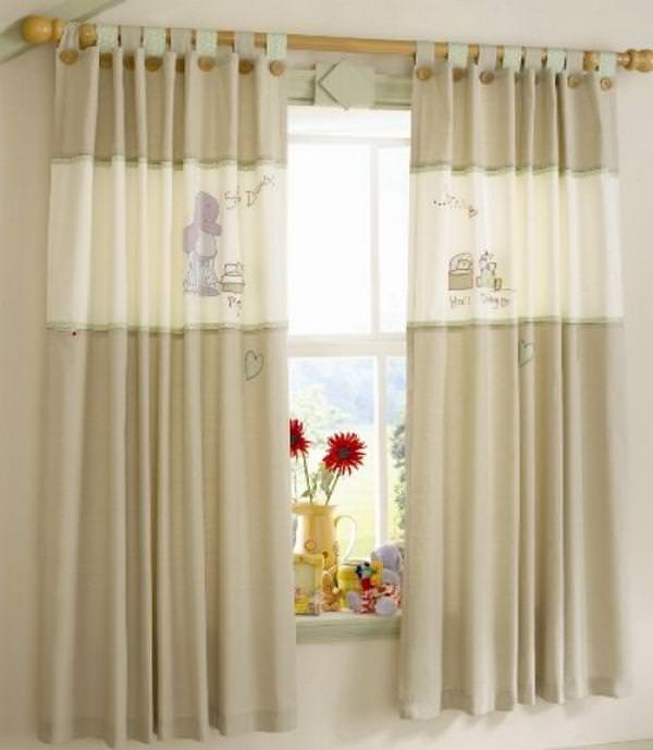 Image of: Nursery Blackout Curtains John Lewis