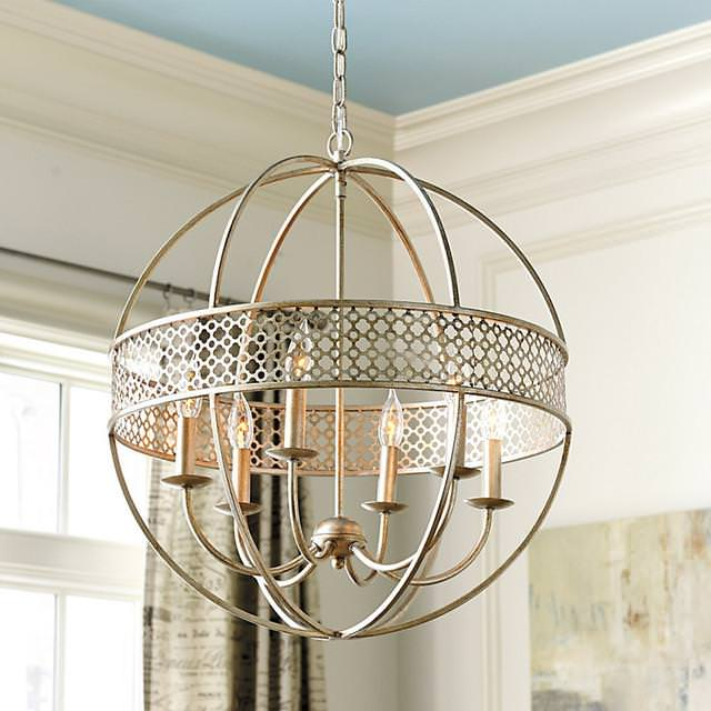 Orb Chandelier Black