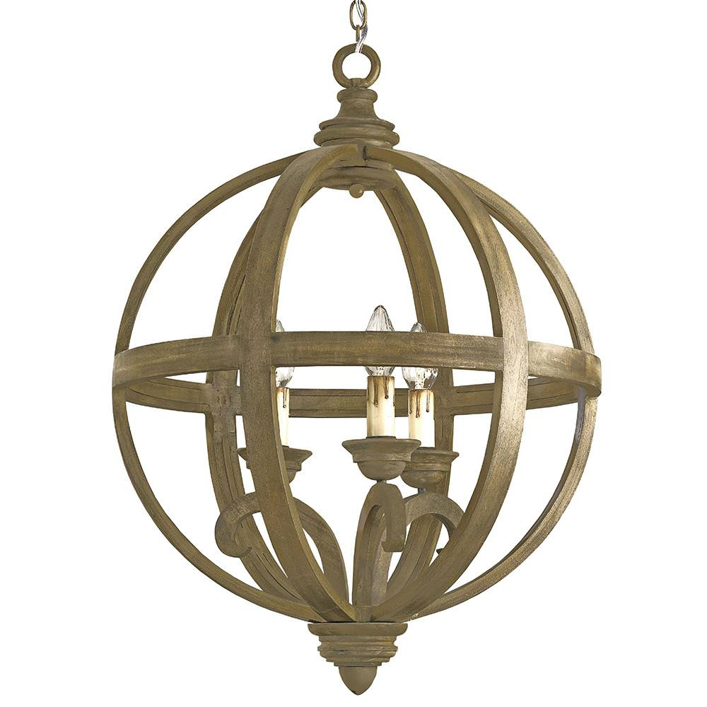 Orb Chandelier Floor Lamp