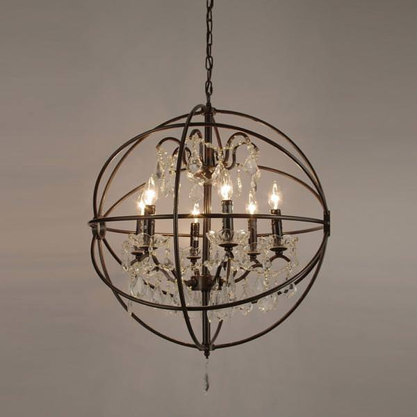 Orb Chandelier For Entryway