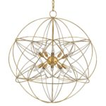 Orb Chandelier Home Depot