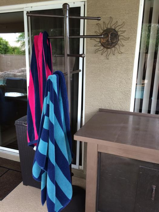 Picture of: Pool Towel Rack Australia