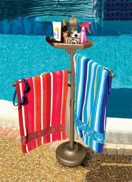 Picture of: Pool Towel Rack Frontgate