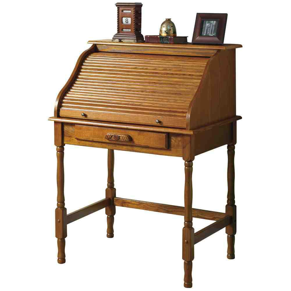 Picture of: Secretary Desk With Hutch Antique