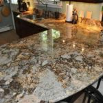 Solarius Granite And Backsplash