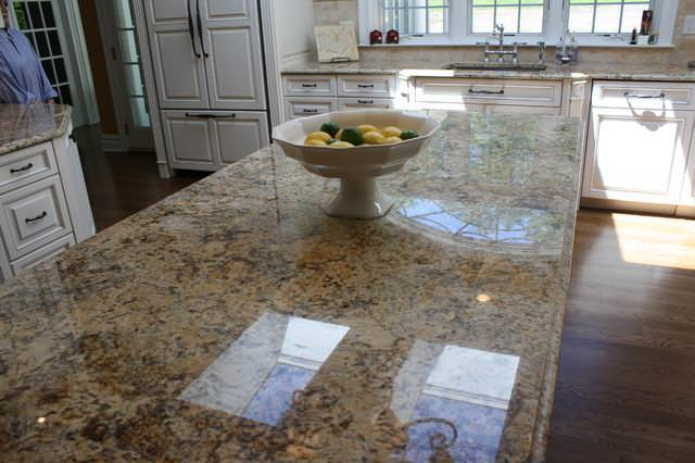 Image of: Solarius Granite Slabs Countertop