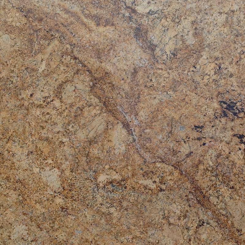 Image of: Solarius Granite With Backsplash