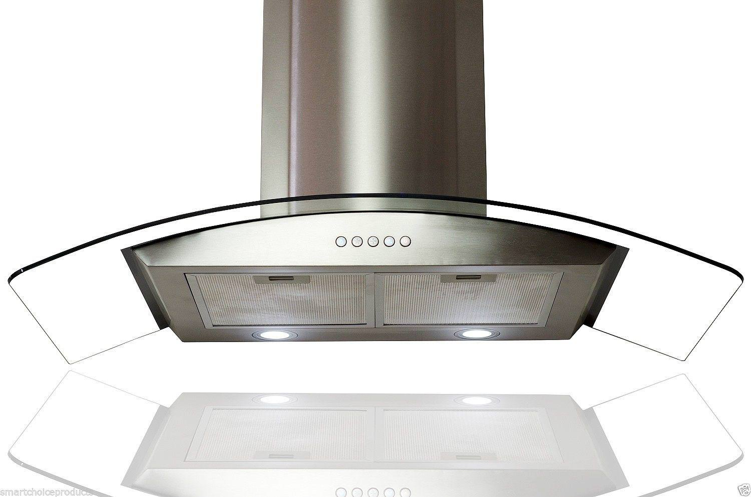 Image of: Stove Hoods Black