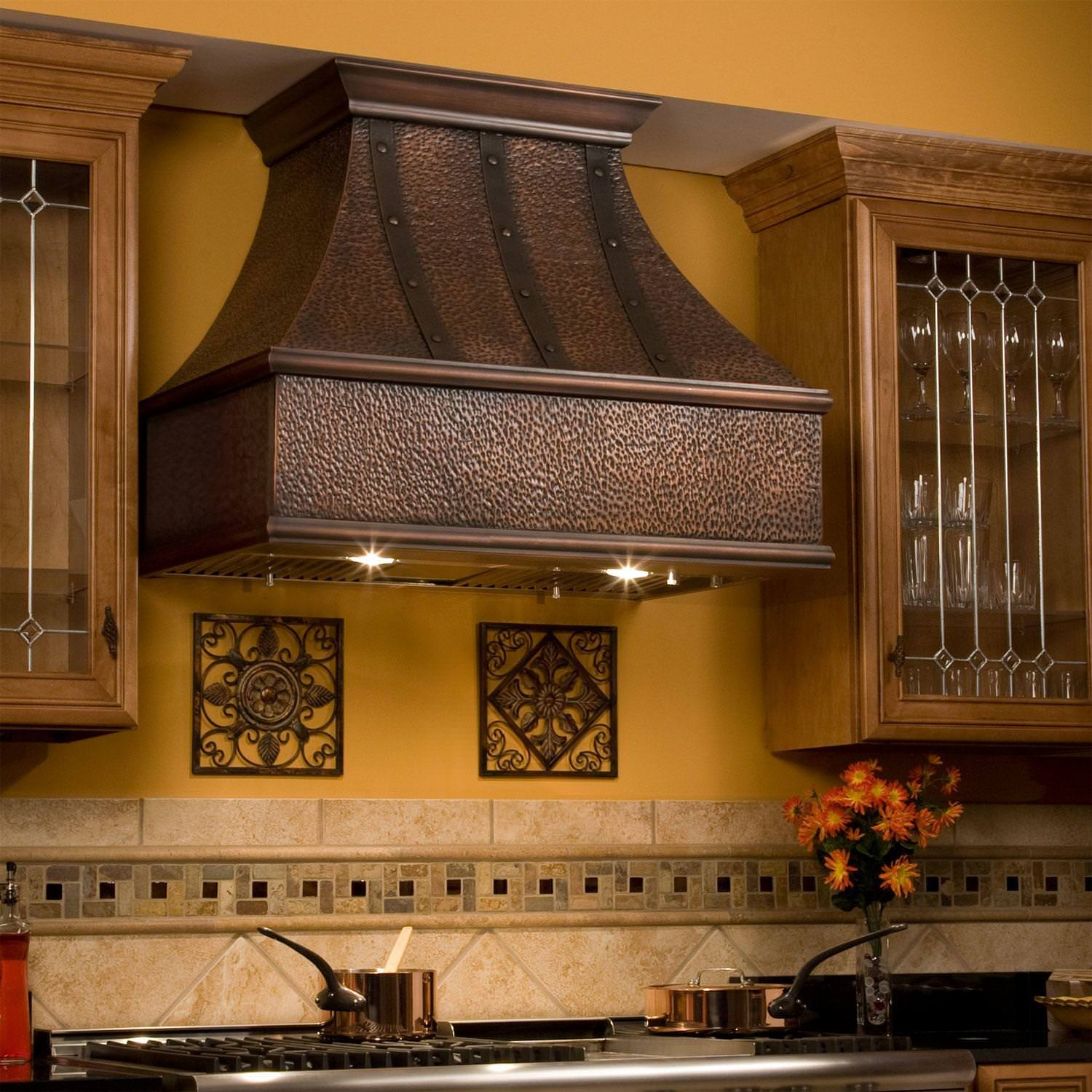 Image of: Stove Hoods Ideas