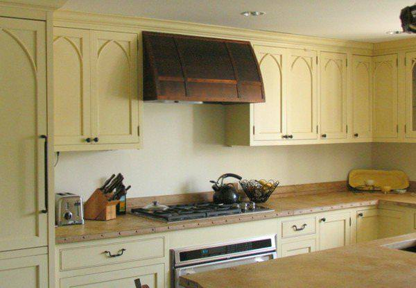 Image of: Stove Hoods Installation