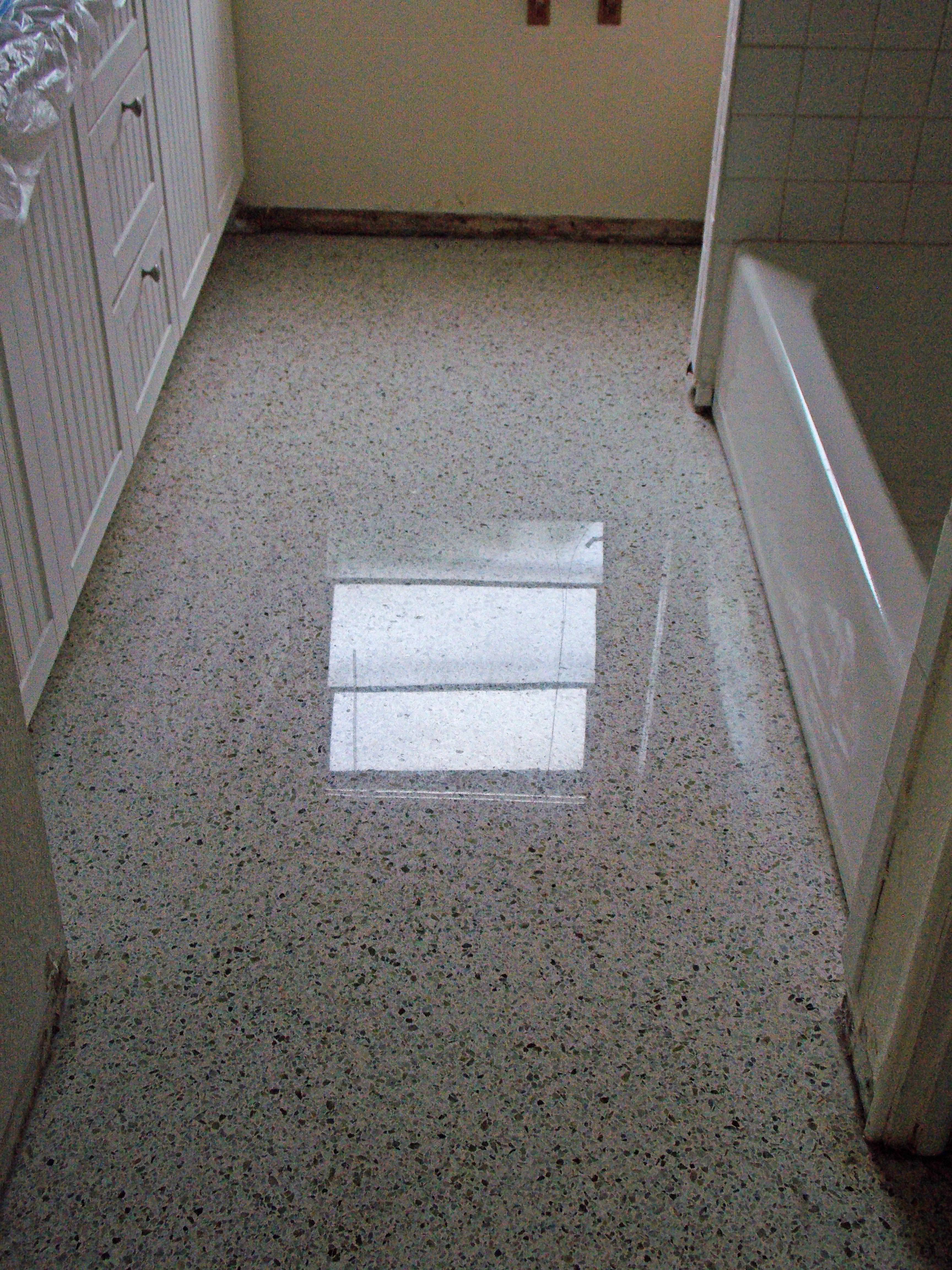 Image of: Terrazzo Floors Pros And Cons