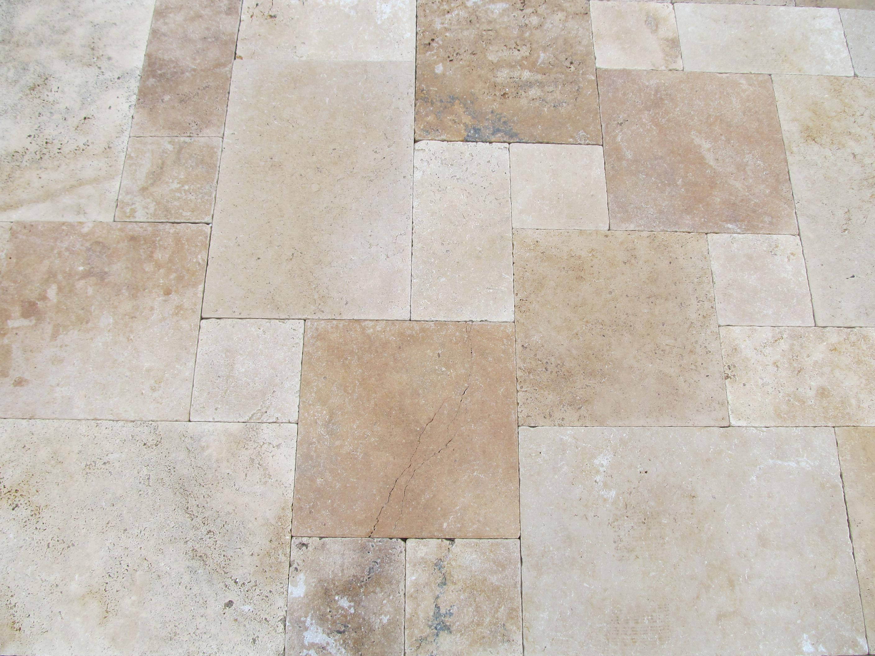 Image of: Travertine Pavers Cost