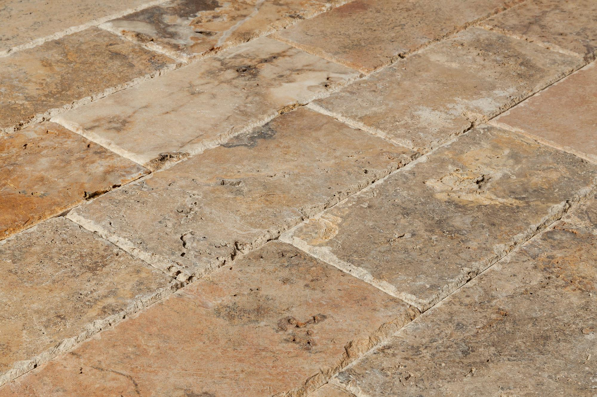 Image of: Travertine Pavers For Pool Deck