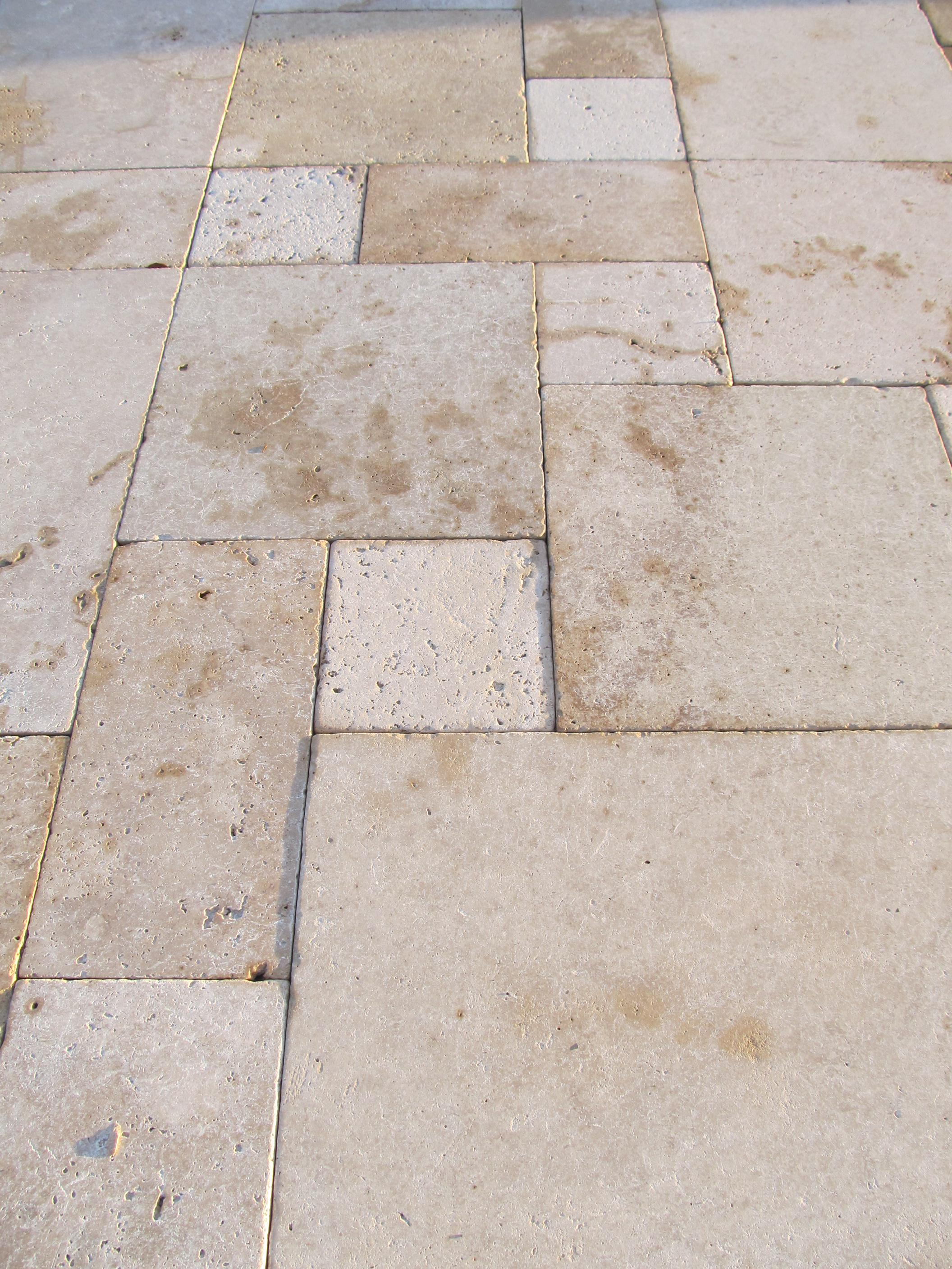 Image of: Travertine Pavers Home Depot