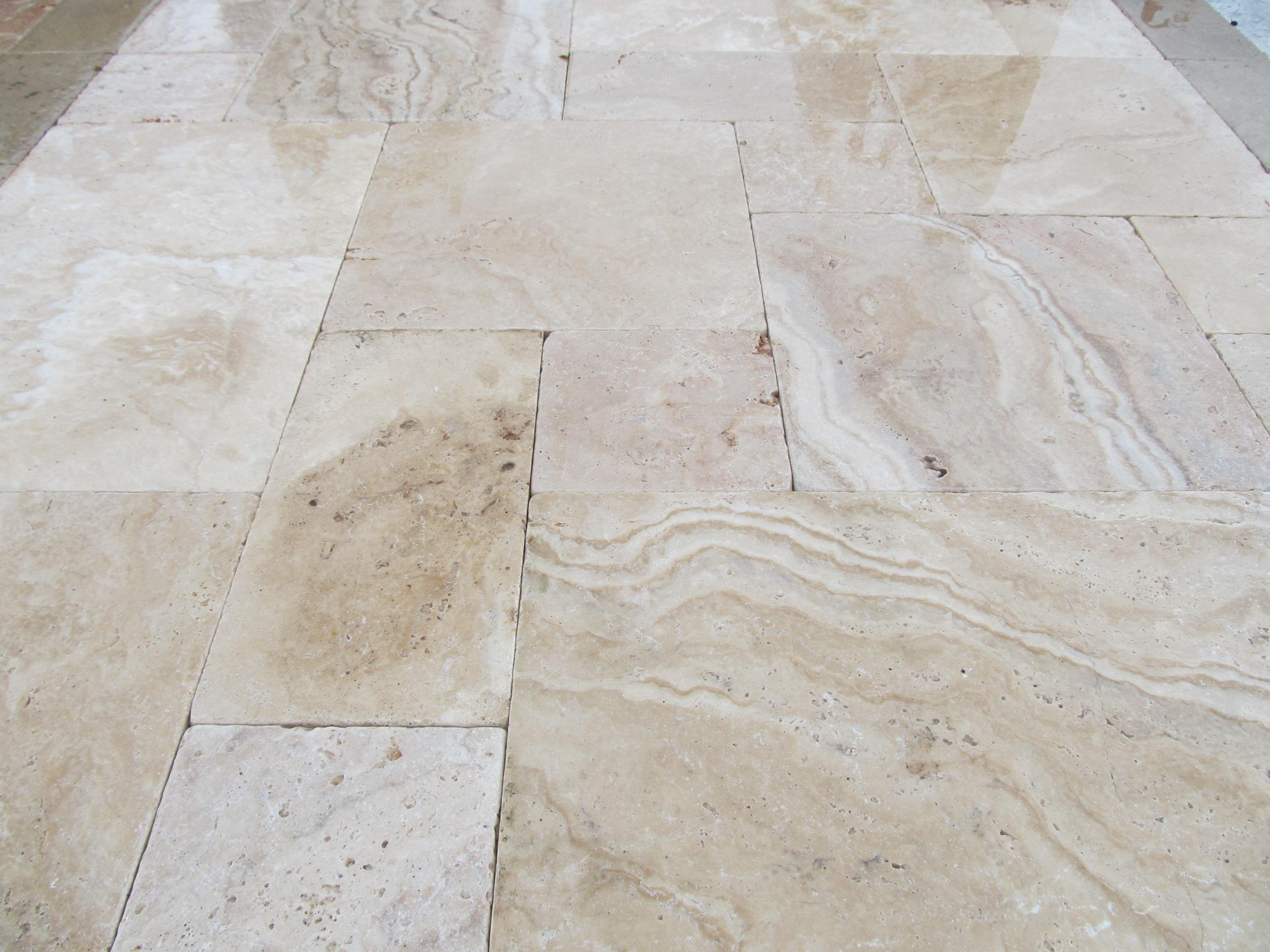 Image of: Travertine Pavers Houston