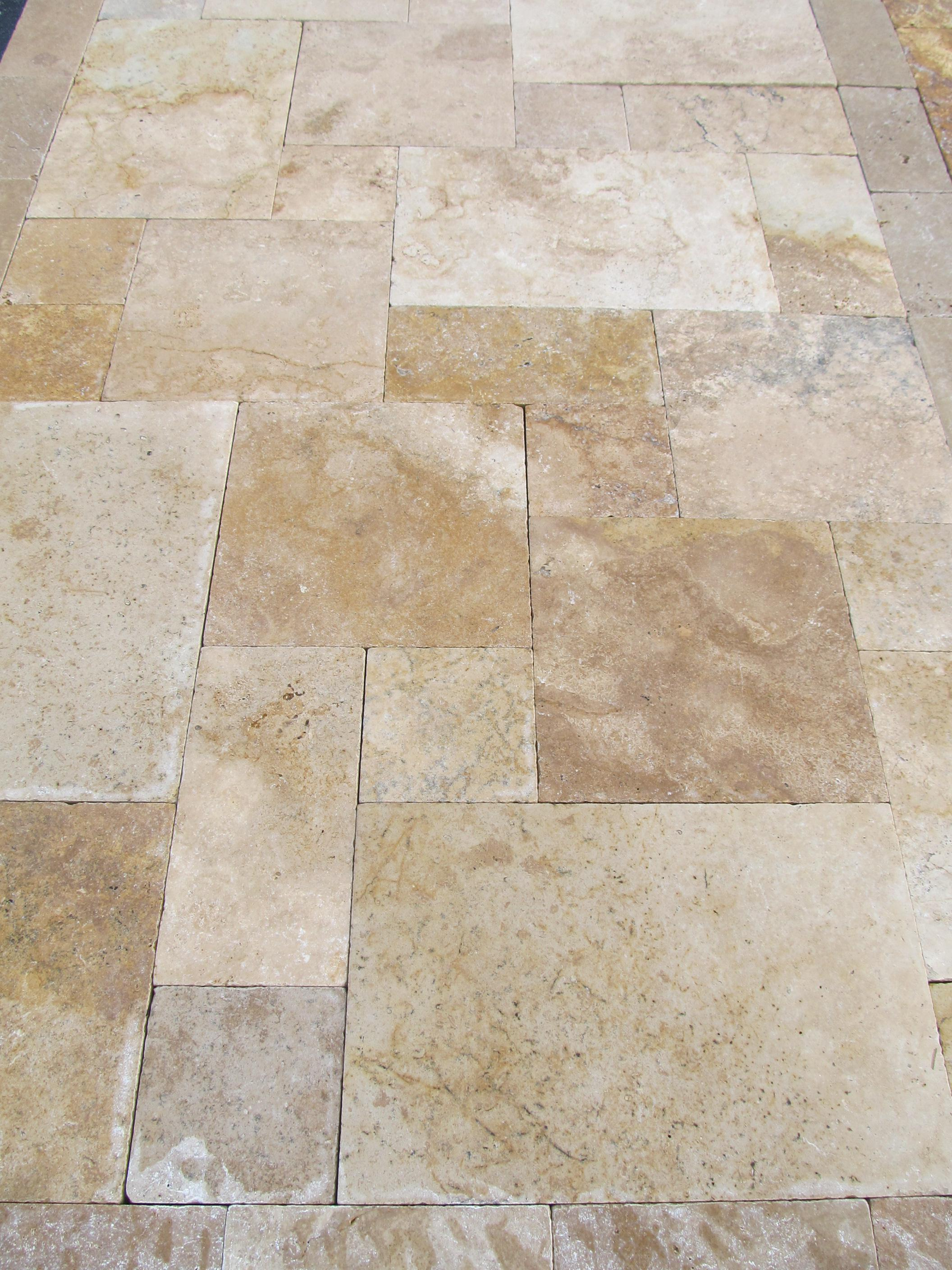 Image of: Travertine Pavers Las Vegas