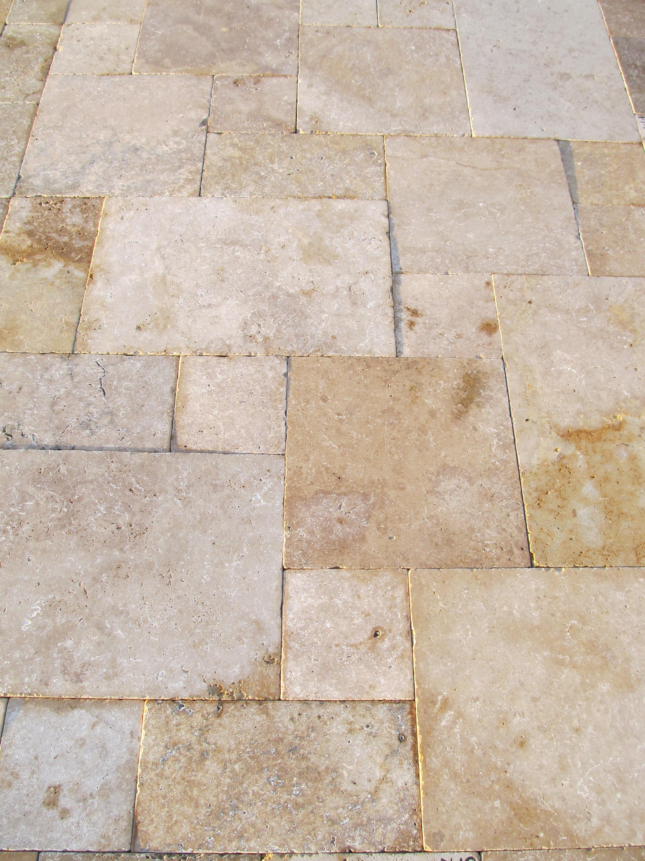 Image of: Travertine Pavers Nj