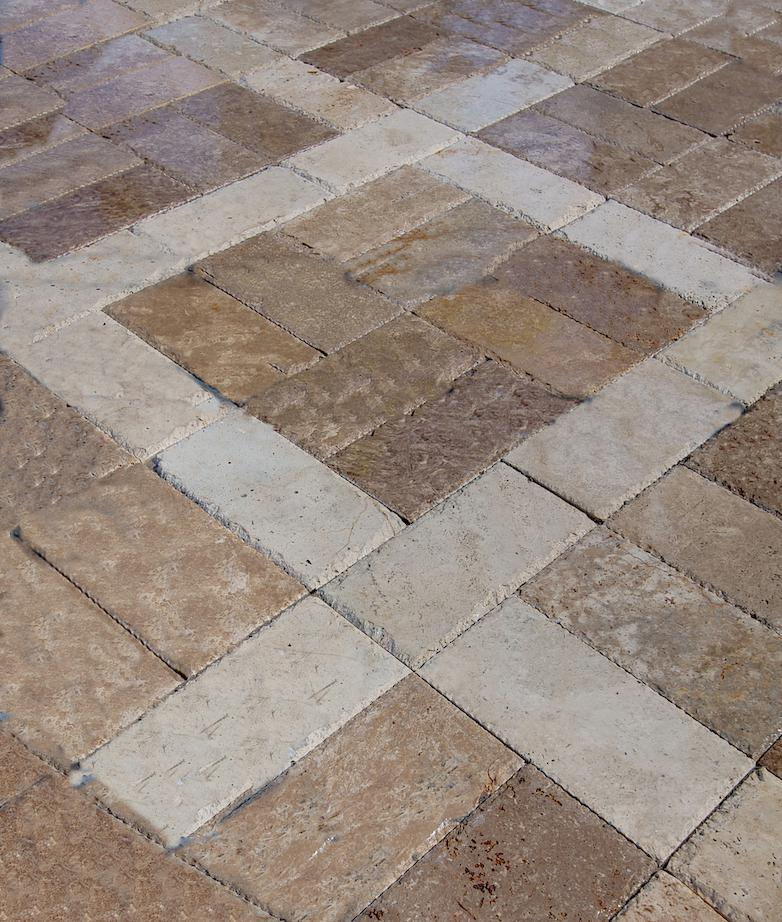 Image of: Travertine Pavers Orlando