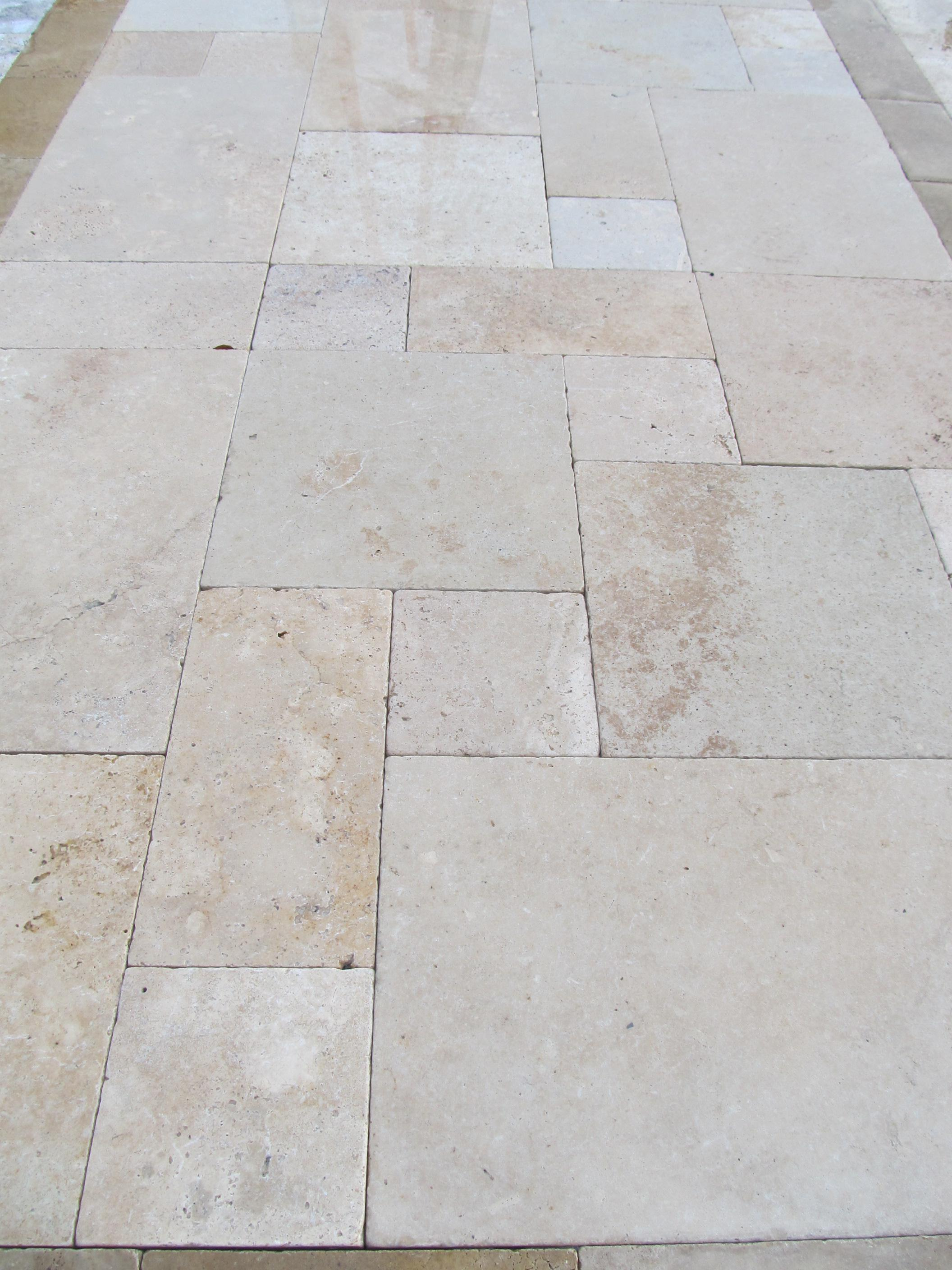 Image of: Travertine Pavers Phoenix
