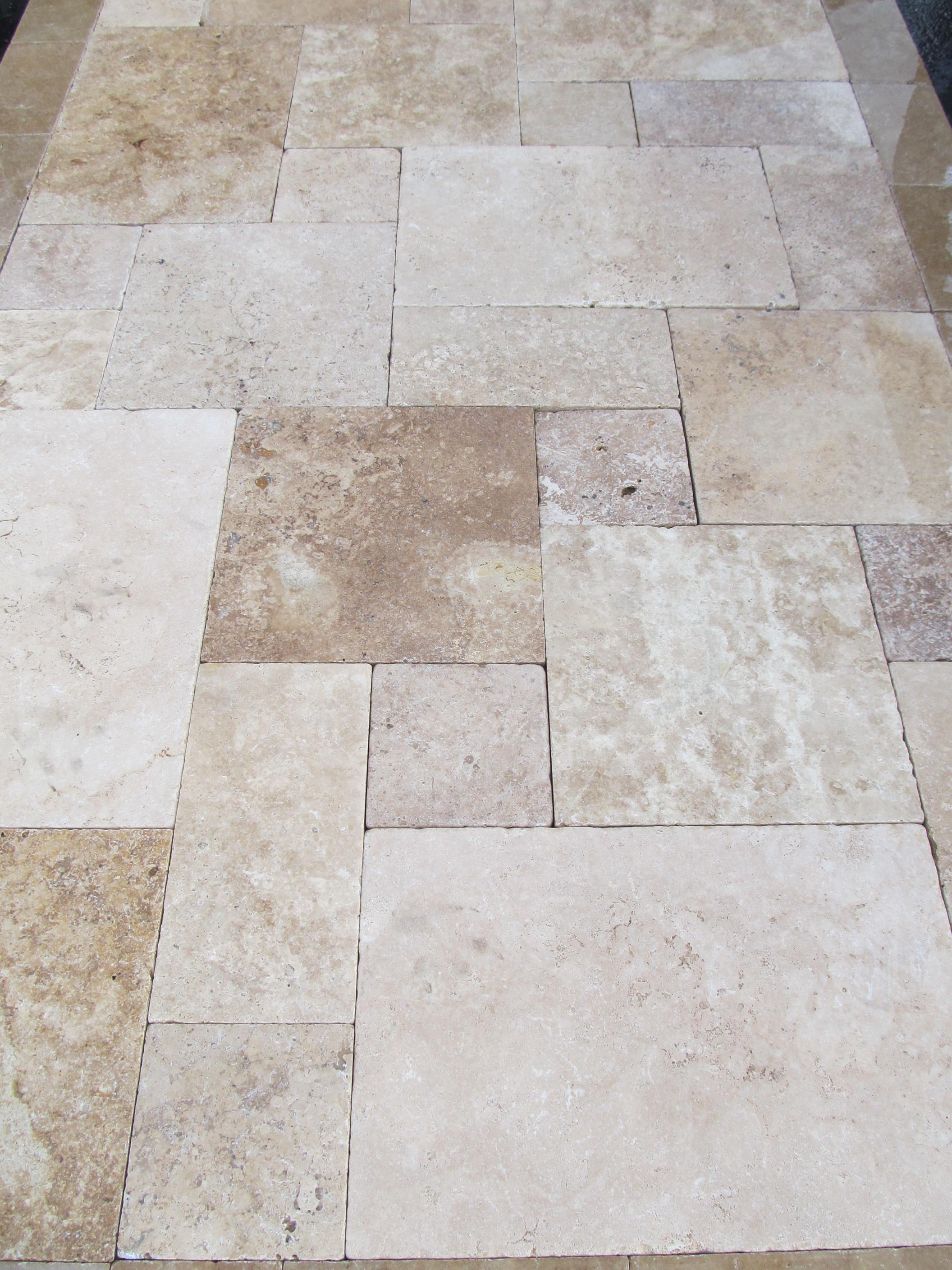 Image of: Travertine Pavers Tucson
