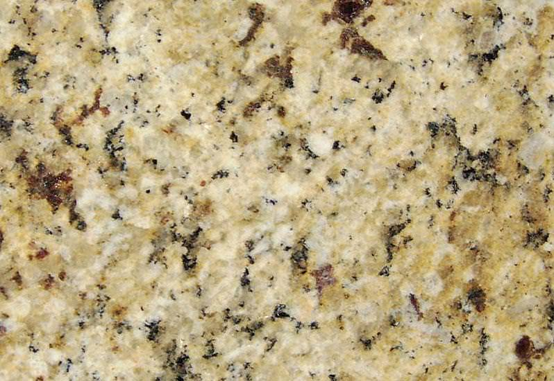 Image of: Cool Venetian Gold Granite Backsplash