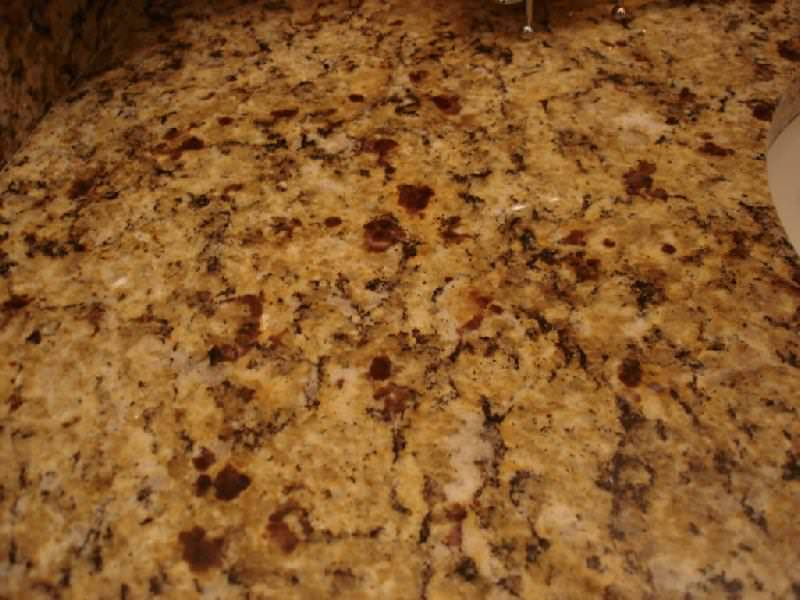 Image of: Unique Venetian Gold Granite Tile Edge