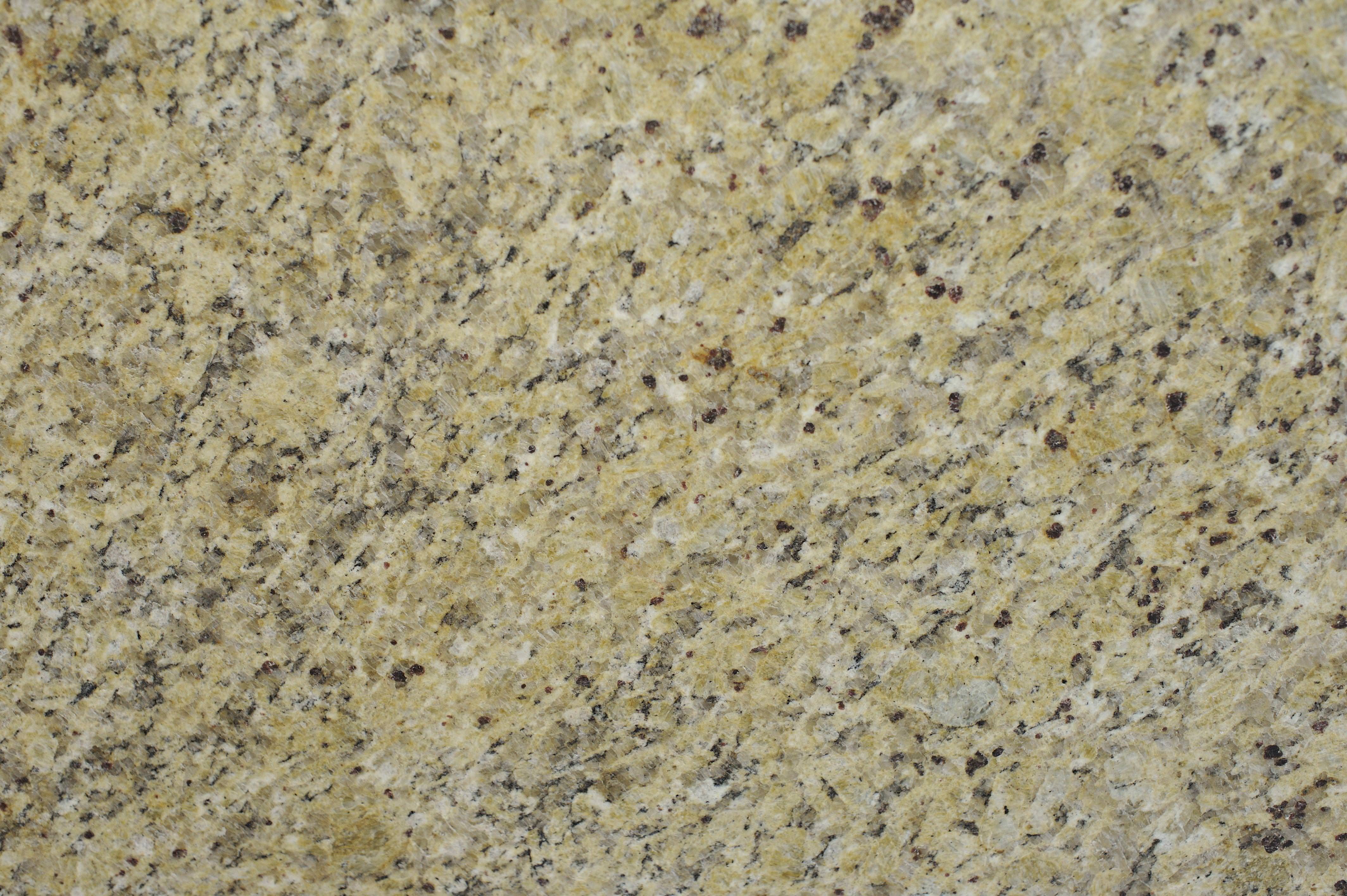 Image of: Amazing Venetian Gold Granite White Cabinets