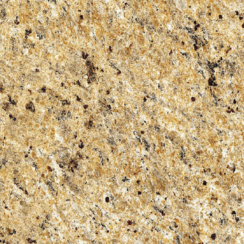 Image of: Venetian Gold Granite With Gray Cabinets Ideas