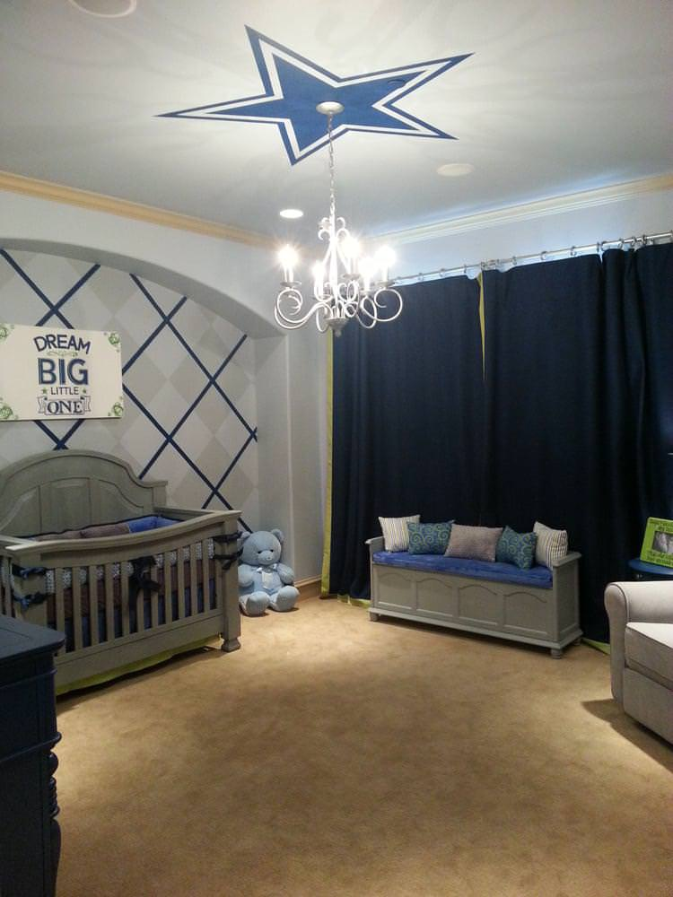 Image of: Vintage Cowboy Nursery Ideas