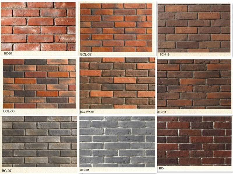 Image of: Faux Brick Panels At Home Depot