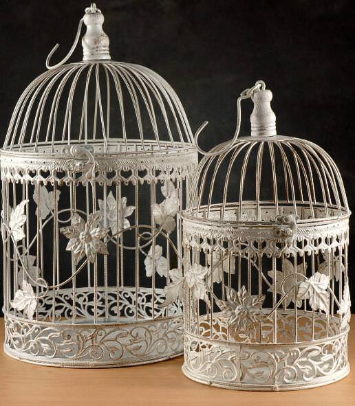 Image of: Decorative Bird Cage Blue